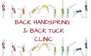 BACK HANDSPRING & BACK TUCKCLINIC
