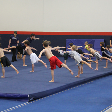 Flairs Boys Gymnastics