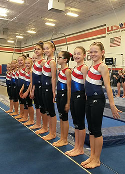usa illusions girls gymnastics