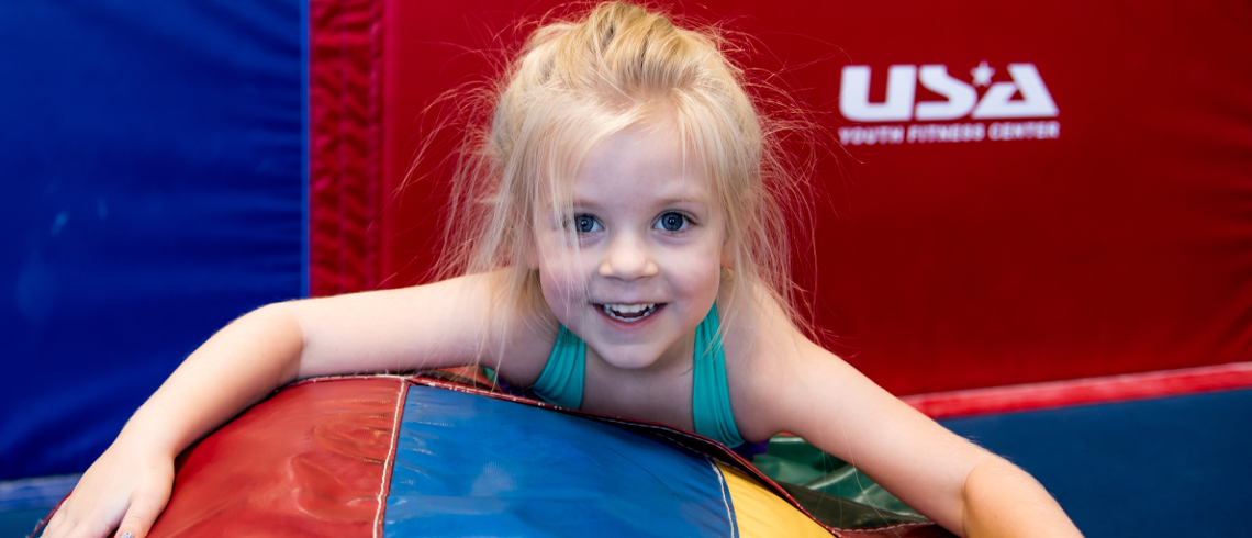 usa youth fitness center preschool gymnast