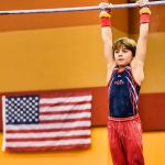 USA Invitational Mens Gymnastics High Bar