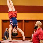 USA Invitational Mens Gymnastics Vault