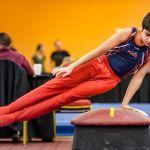 USA Invitational Mens Gymnastics Pommel